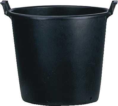 Pépinière noir , 35 l, 45 cm ø (extérieur), 40 cm ø (intérieur